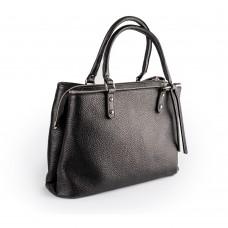 Вмістка сумка зі шкіри